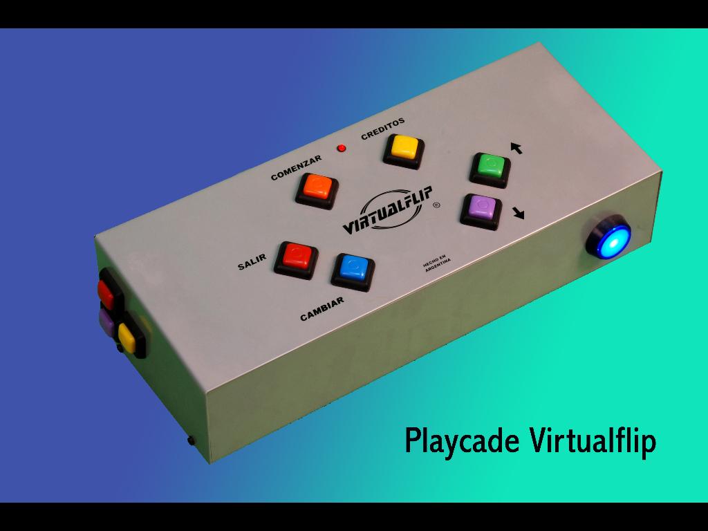 VIRTUALFLIP, control para videopinballs.