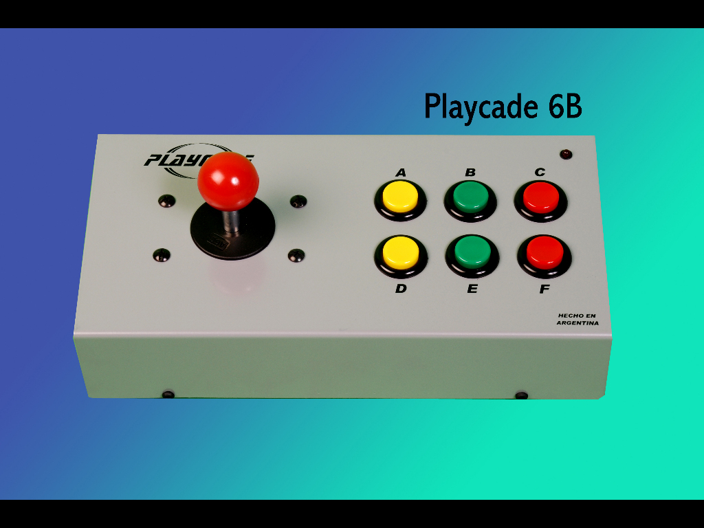 PLAYCADE 6B (6 BOTONES)