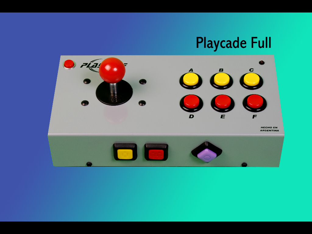 PLAYCADE FULL (10 BOTONES + TURBOS)