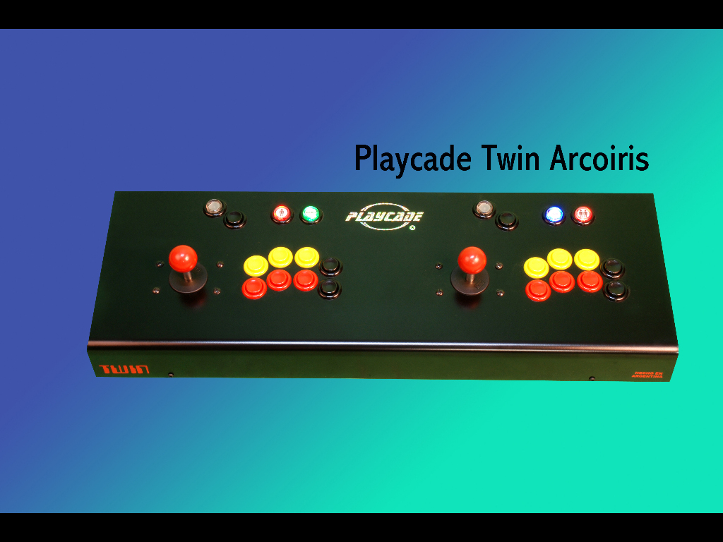 PLAYCADE TWIN ARCOÍRIS