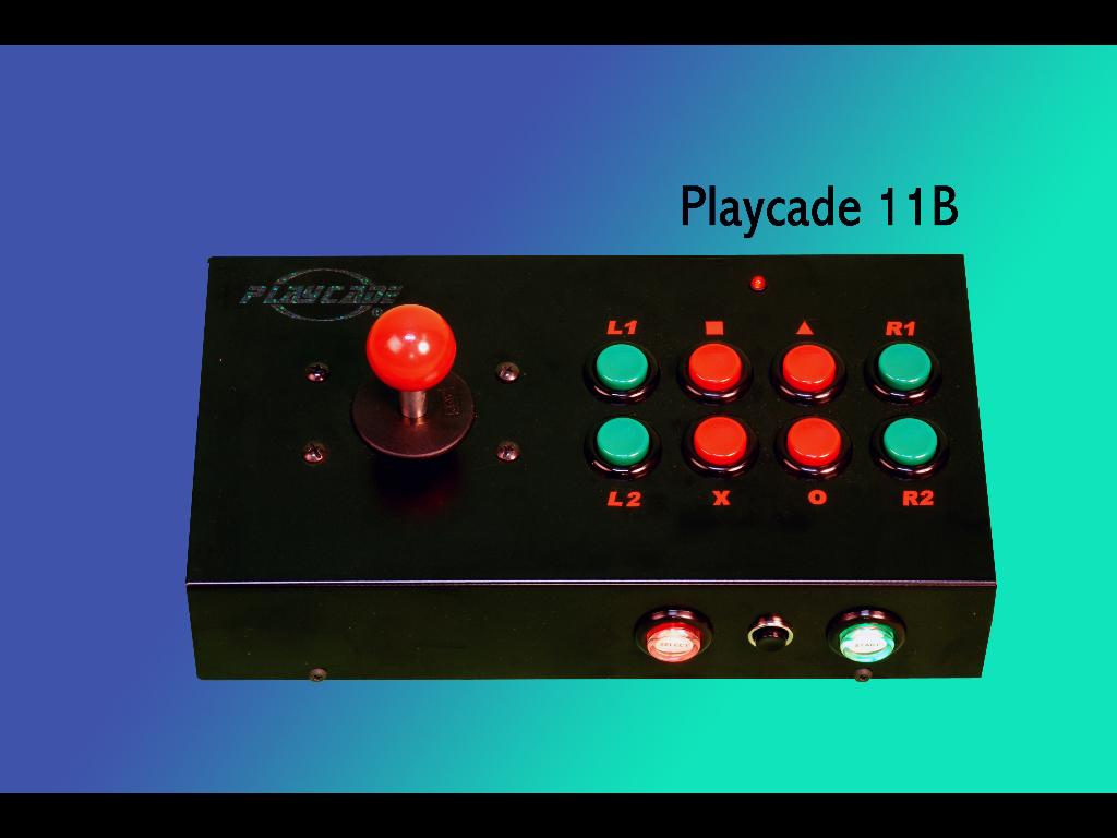 PLAYCADE 11B (11 BOTONES)