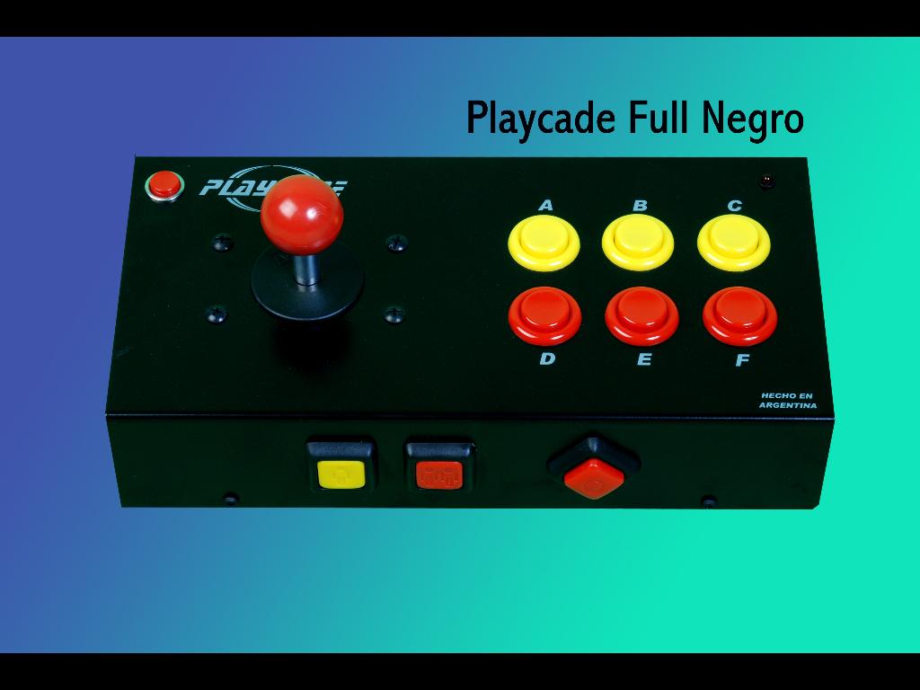PLAYCADE FULL (NEGRO)