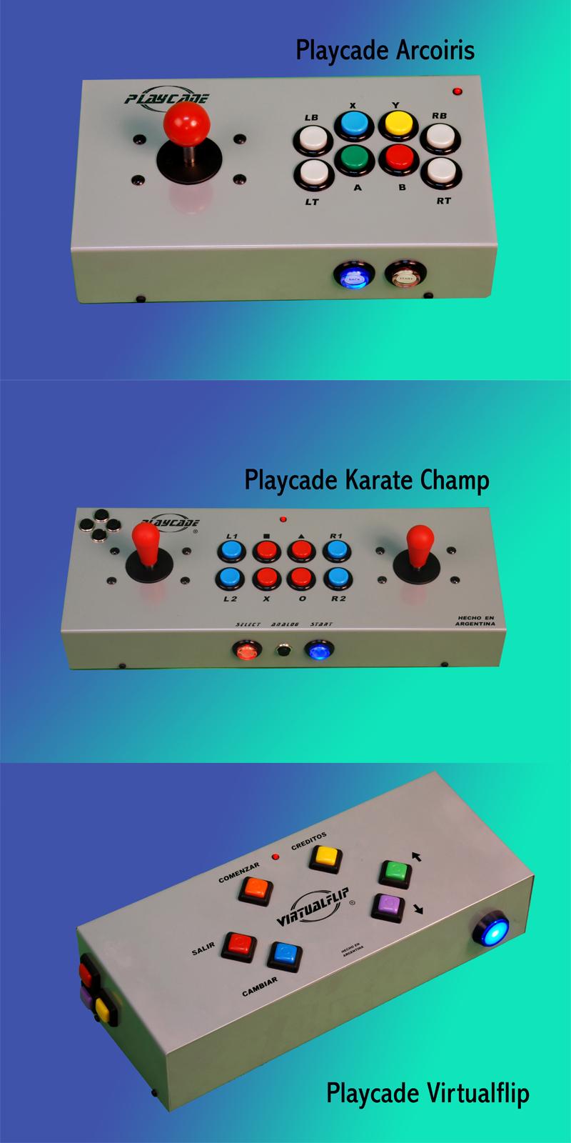 PLAYCADE, varios modelos: